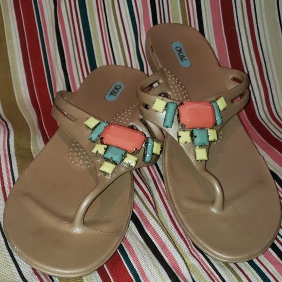 OKA b. Shoes | Okal Sandals Size Ml 8 9